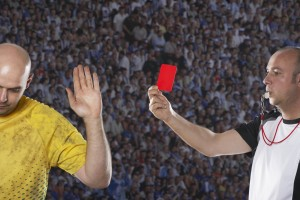 Director, red card, obedience